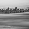 I just loved the smooth fog under the city and had to zoom in closer<br /> <br /> Black and White version