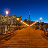 Pier7 SF (2012-12-19) : Holiday lights photos from sunset at Pier 7 in San Francisco