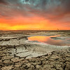 Alviso Explosion (2012-09-05) : An absolutely AMAZING sunset from the Alviso mudflats!