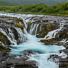 Brúarfoss, one of my favorite waterfalls. I love how blue it is